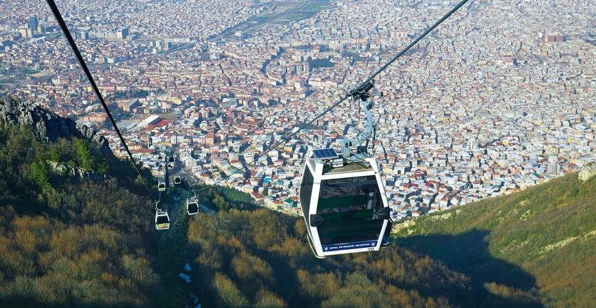 how to get to uludag from bursa